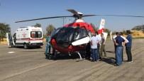 MİDE KANSERİ - Ambulans Helikopter Kanser Hastası İçin Havalandı