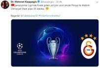 ATATÜRK OLIMPIYAT STADı - Bakan Kasapoğlu Açıklaması 'Başarılar Galatasaray, Yolun Sonu İstanbul'