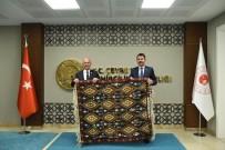 FERİBOT İSKELESİ - Başkan Akman'dan Bakan Kurum Ve Bakan Yardımcısı Alpaslan'a Ziyaret
