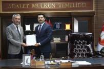 İLÇE SEÇİM KURULU - Ardahan Baro Başkanlığına Seçilen Osman Nuri Yıldız Mazbatasını Aldı