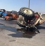 PAZARKÖY - Traktör Sürücüsü Yaşam Mücadelesini Kaybetti