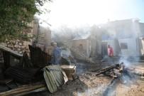 Tunceli'de Ev Yangını 2'Si Kullanılamaz Hale Geldi, 1'İnde Hasar Oluştu