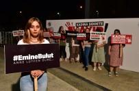 MENDERES TÜREL - Antalya'da 'Kadına Şiddete Hayır' Duvarı Oluşturuldu