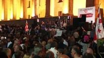 GÜNEY OSETYA - Gürcistan'da Hükümet Karşıtı Protesto
