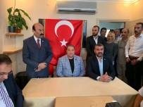 ÜLKÜCÜLER - MHP Teşkilatından Kamu-Sen'e Hayırlı Olsun Ziyareti