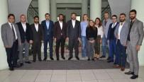ÇALıKUŞU - TOBB GGK Bölge Temsilcisi Açıkbaş'tan ETSO'ya Ziyaret
