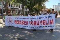 ÇANKIRI VALİSİ - 'Birlikte Yürüyelim' Temalı Yürüyüş Gerçekleştirildi
