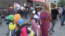 BRANDENBURG - 'Süslü Kadınlar' Berlin'de Pedal Çevirdi