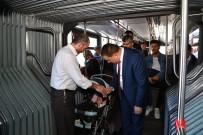 SERVİSÇİLER ODASI - Başkanlardan Yolculara Ziyaret