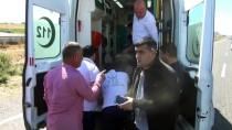 KÖSELI - Bismil'de Trafik Kazası Açıklaması 2 Yaralı