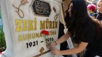 ZEKİ MÜREN - Sanat Güneşi Ölümünün 23. Yılında Mezarı Başında Anıldı