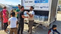 İNSANİ KRİZ - Paylaş İnsani Yardım Derneği'nden Un Ve Su Stokları Tükendiği İdlib'E Yardım Eli