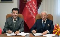 CEM ZORLU - NEÜ İle IBU Arasında İşbirliği Protokolü İmzalandı
