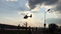 ATATÜRK EĞİTİM VE ARAŞTIRMA HASTANESİ - Ambulans Helikopter Yaşlı Hasta İçin Havalandı