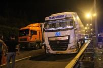 KANBER - TEM'de 4 Aracın Karıştığı Zincirleme Kaza Açıklaması 3 Ölü, 3 Yaralı