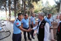 CAFER YıLMAZ - Belediye Başkanı Tahmazoğlu İtfaiyecileri Ziyaret Etti
