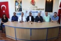 BASIN KURULUŞU - CHP'den Gazeteciler Cemiyeti'ne Hayırlı Olsun Ziyareti
