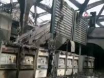 CİDDE - Cidde'deki Hızlı Tren İstasyonundaki Hasar Görüntülendi