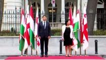 GÜNEY OSETYA - Macaristan Cumhurbaşkanı Ader Gürcistan'da