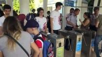 İZMIR ENTERNASYONAL FUARı - İEF'ye Girişte 'Temassız' Dönem