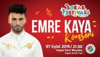 EMRE KAYA - Ünlü sanatçı Emre Kaya, Sokak Festivali'nde
