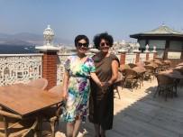 İZMIR ENTERNASYONAL FUARı - Çin Büyükelçisi'nin Eşinden Kemeraltı Ve Agora Turu