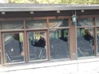 KAZıM ÖZGAN - Kozan'da Dağılcak Sosyal Tesislerine Saldırı
