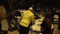 TRAFİK DENETİMİ - Alkollü Araç Kullanırken Yakalandı 'Ben Türk Delikanlısıyım' Dedi