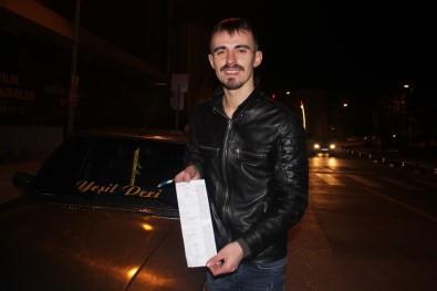 Ehliyetsiz Ve Alkollü Araç Kullanırken Yakalandı, Olayı Gülerek Anlattı