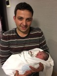 3 ARALıK - Ordu'da Yeni Yılın İkinci Bebeği İHA Muhabirini Sevindirdi