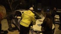 TRAFİK DENETİMİ - (Özel) Alkollü Araç Kullanırken Yakalandı 'Ben Türk Delikanlısıyım' Dedi