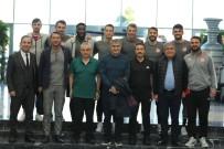 A MİLLİ FUTBOL TAKIMI - Güneş, Sivasspor'u Ziyaret Etti