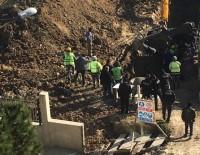 SIYAR - Lüleburgaz'da Hastane İnşaatında Toprak Kayması Açıklaması 2 Yaralı