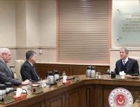 JAMES JEFFREY - Milli Savunma Bakanı Akar ABD Suriye Özel Temsilcisi Jeffrey'i kabul etti