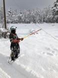 YÜKSEK GERİLİM - Toroslar EDAŞ Kış Şartlarında Çalışmalara Devam Ediyor