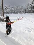 YÜKSEK GERİLİM - Toroslar EDAŞ, Zorlu Kış Şartlarında Çalışmalarını Sürdürüyor