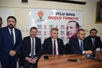 MAHİR ÜNAL - AK Parti Genel Başkan Yardımcısı Ünal Ayvalık'ta