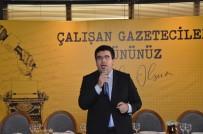 ÇALIŞAN GAZETECİLER GÜNÜ - Büyükşehir'den Gazeteciler Ve Aileleri Onuruna Yemek