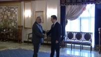 BARZANI - Irak Başbakanı Abdulmehdi, IKBY Başbakanı Barzani İle Görüştü