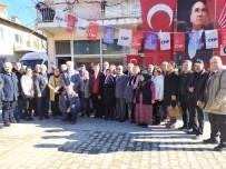 MEHMET KARAKAYA - Pazarlar CHP'de Salih Çetinkaya Tekrar Seçildi