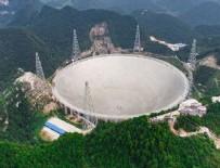 ASTRONOMI - Dünyanın en büyük radyo teleskobu devreye girdi
