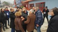 KARABÜKSPOR - Kulüp Başkanı Ve Futbolcu Babası Arasında Maç Sonrası Gerginlik