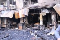 GÖRGÜ TANIĞI - İzmir'de Dehşete Düşüren Yangın Açıklaması 5 Kişi Dumandan Etkilendi