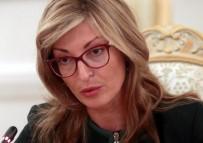 BULGAR - Bulgaristan Dışişleri Bakanı Zaharieva'dan ABD'ye Türkakım Cevabı