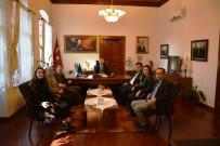 ALI SıRMALı - Edremit Mimarlar Odası Yeni Yönetiminden Kaymakam Sırmalı'ya Ziyaret