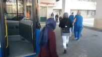 BELEDIYE OTOBÜSÜ - Elazığ'da Rahatsızlanan Yolcu Otobüsle Hastaneye Yetiştirildi