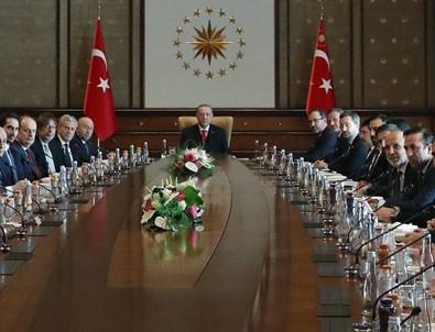 Kulüp başkanları Cumhurbaşkanı'yla buluştu!