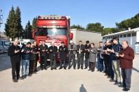 İNSANI YARDıM VAKFı - Yardım Tırları İdlib'e Dualarla Uğurlandı