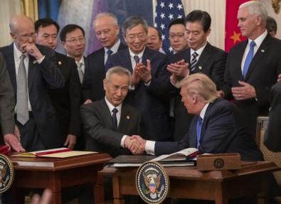ABD İle Çin Arasında Ticaret Savaşının Bitirilmesi Yönünde İlk İmza