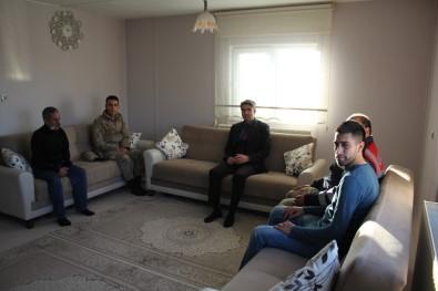 Kaymakam Çalışır'dan Gazi Özden'e Ziyaret